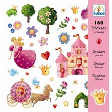 STICKERS PRINCESSES